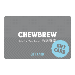 ChewBrew Gift Cards
